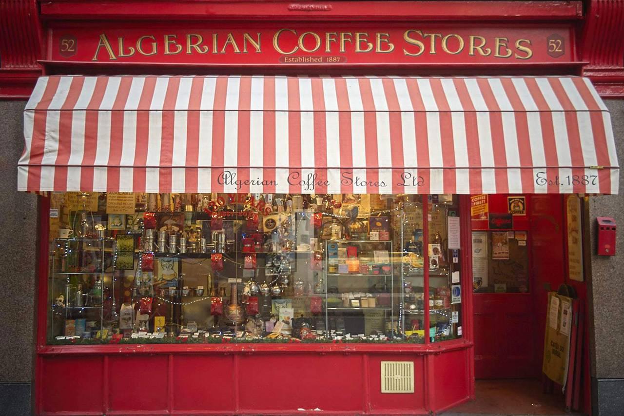 Magasins de café algériens