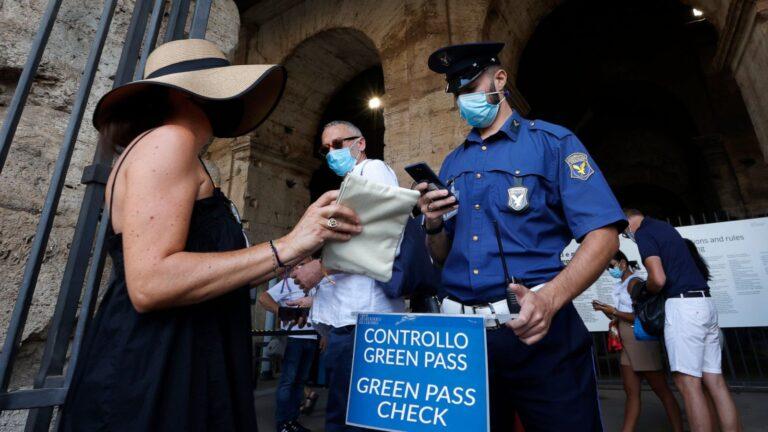 L'Italie étend la liste des activités nécessitant un laissez-passer de vaccination