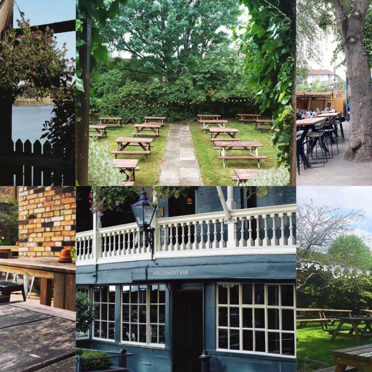 22 des meilleurs jardins à bière de Londres en ce moment