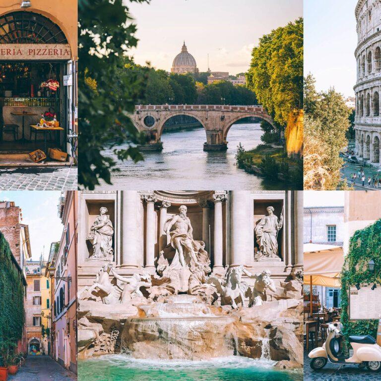 26 des plus beaux endroits de Rome