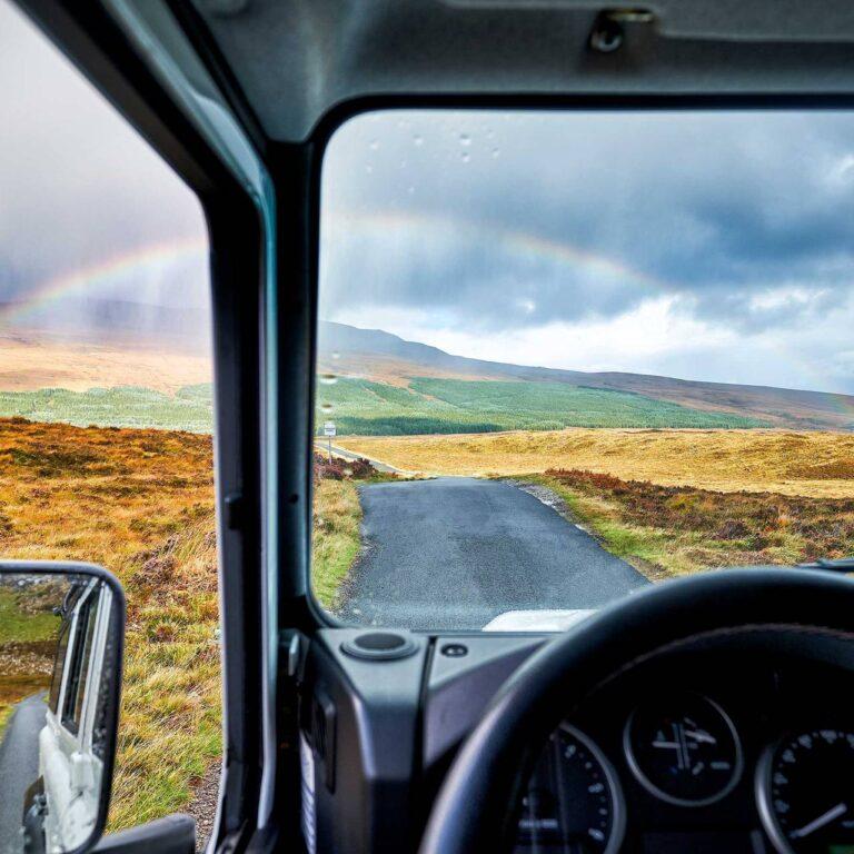 3 des meilleurs road trips en camping-car au Royaume-Uni