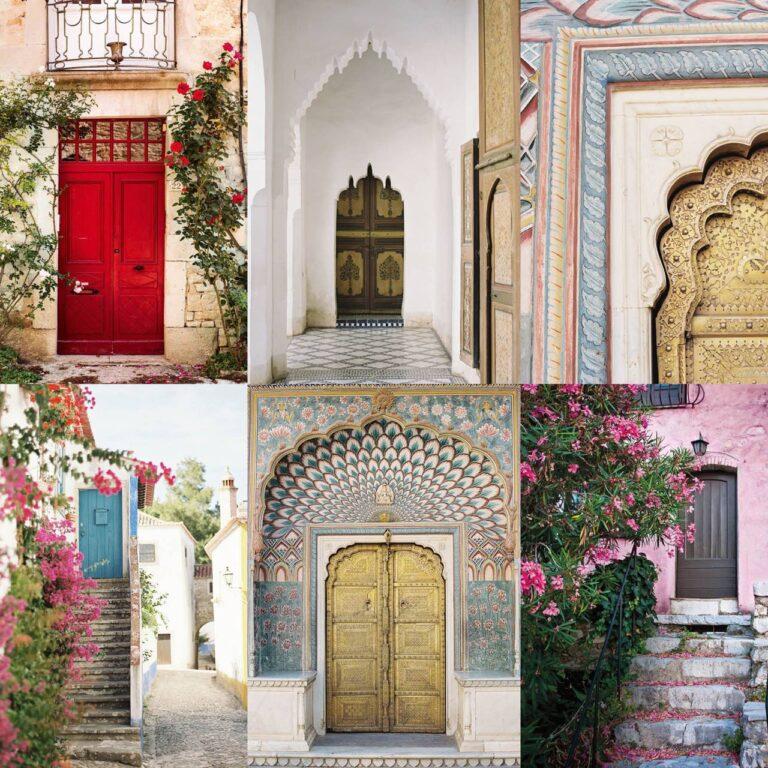 54 portes incroyablement belles que nous voulons traverser