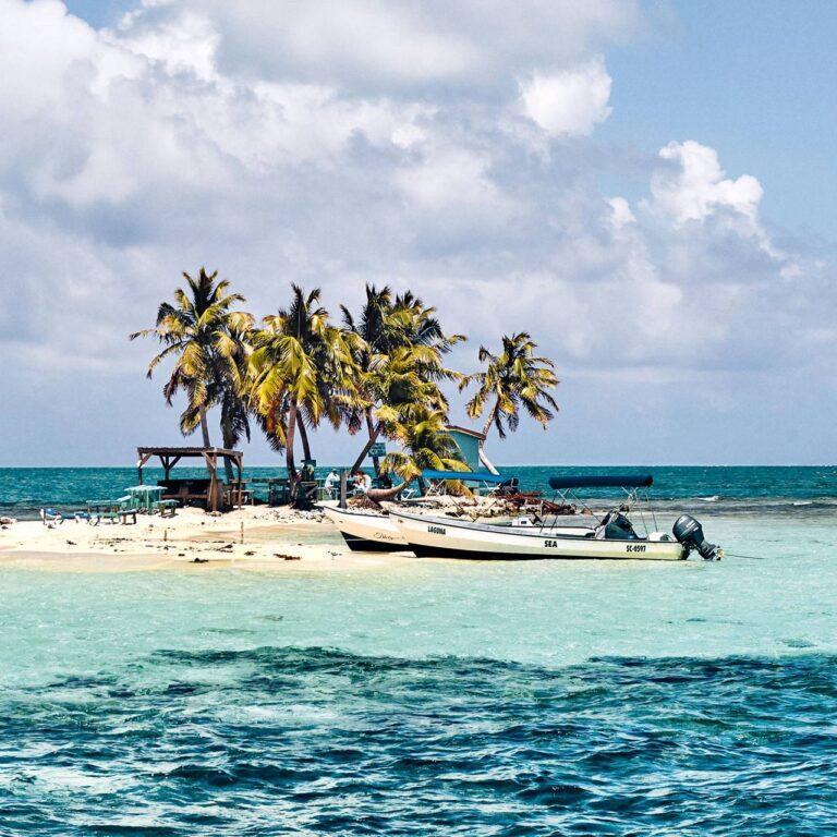 Balade sur la plage au Belize