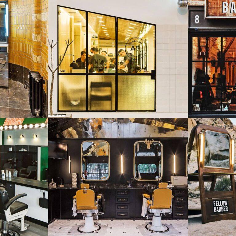Beaux salons de coiffure à travers le monde
