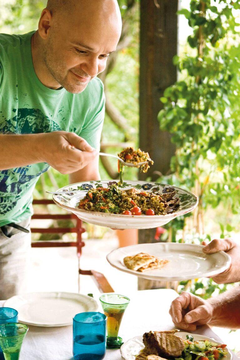 Délicieux plats sur les îles grecques