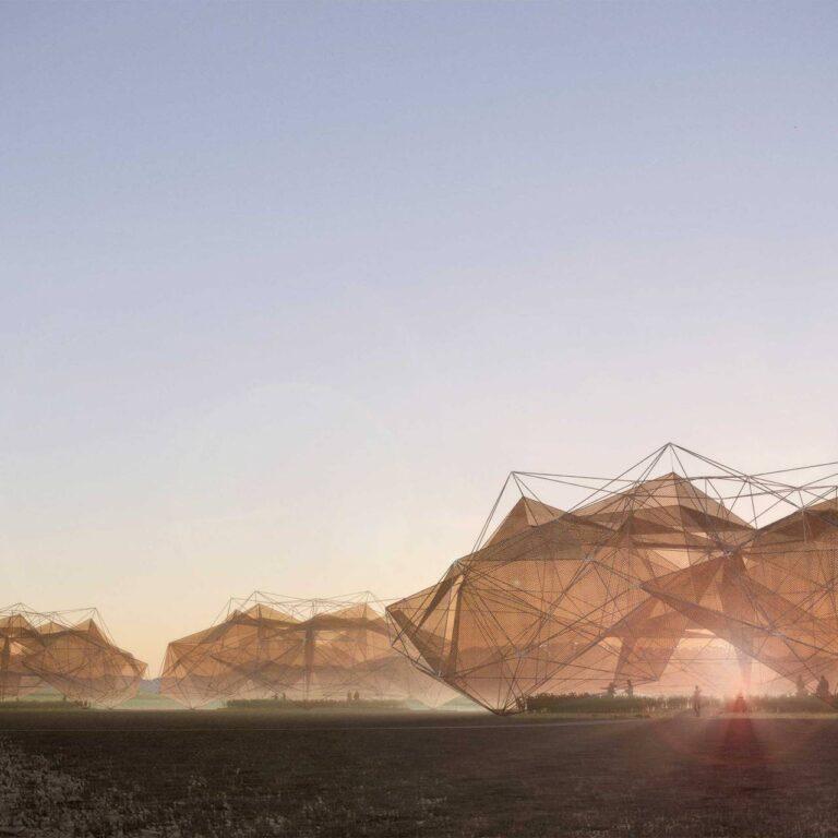 Le projet Burning Man : conception durable dans le désert de Black Rock au Nevada