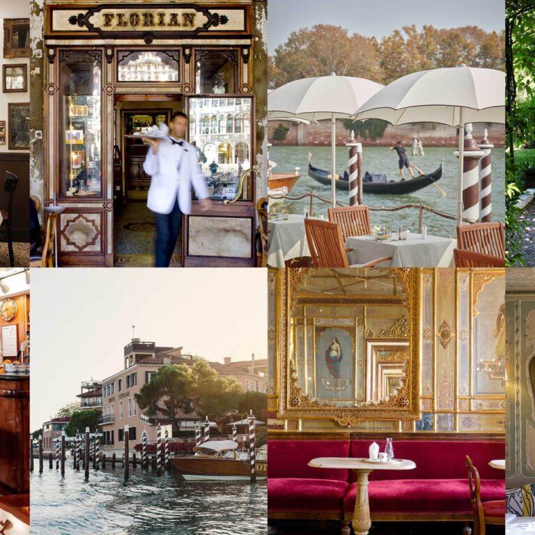 Les 11 plus beaux restaurants de Venise