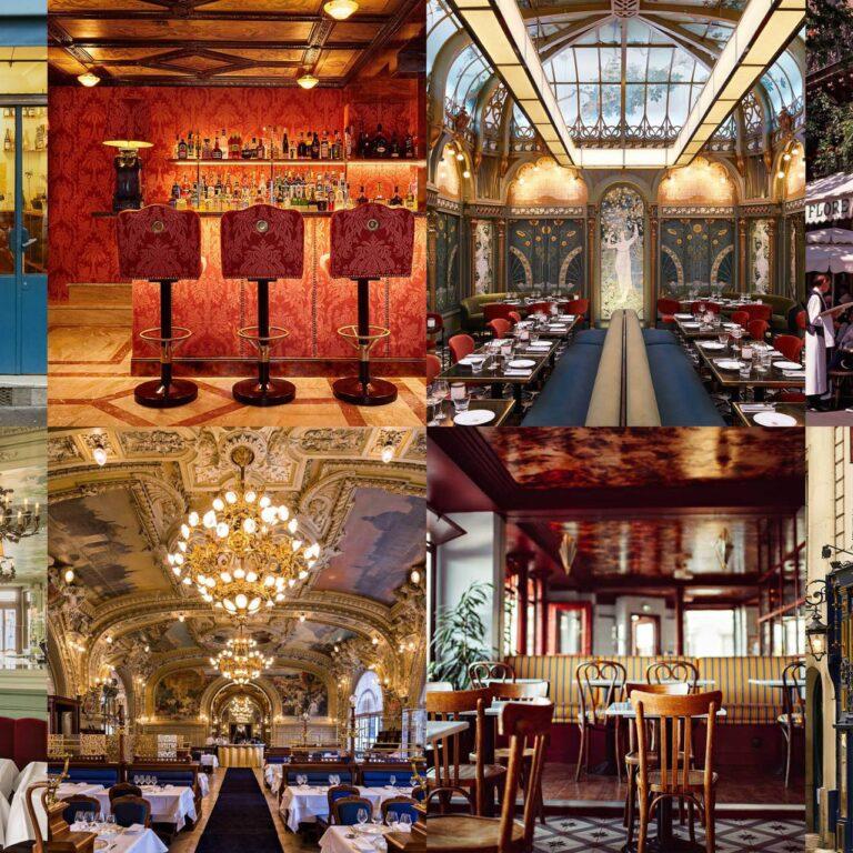 Les 17 plus beaux restaurants de Paris