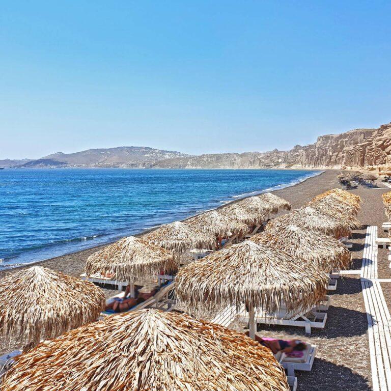 Les cinq plus belles plages de Santorin, en Grèce