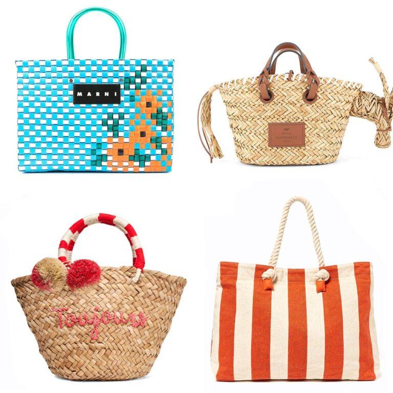 Les meilleurs sacs de plage pour l'été : des cabas en paille aux classiques des créateurs