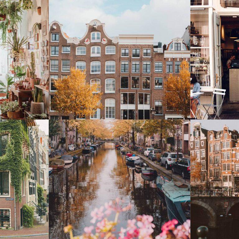 Les plus beaux endroits d'Amsterdam