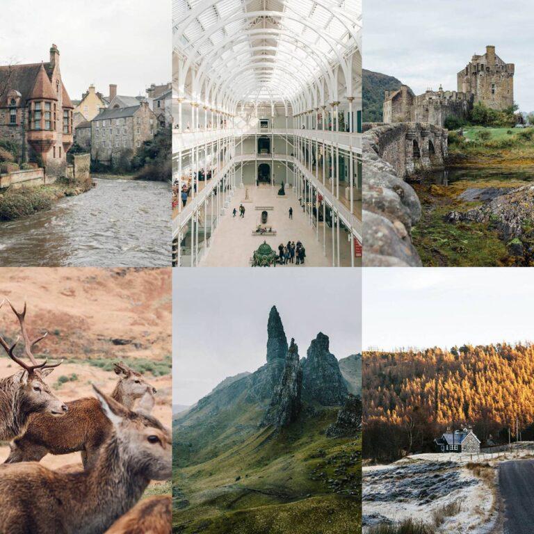Les plus beaux endroits d'Ecosse