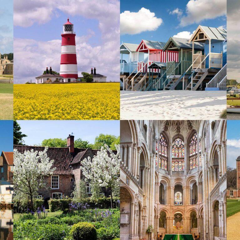 Les plus beaux endroits de Norfolk