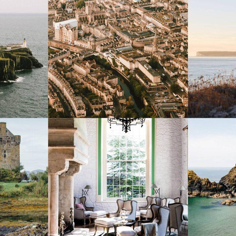 Les plus beaux endroits du Royaume-Uni et d'Irlande