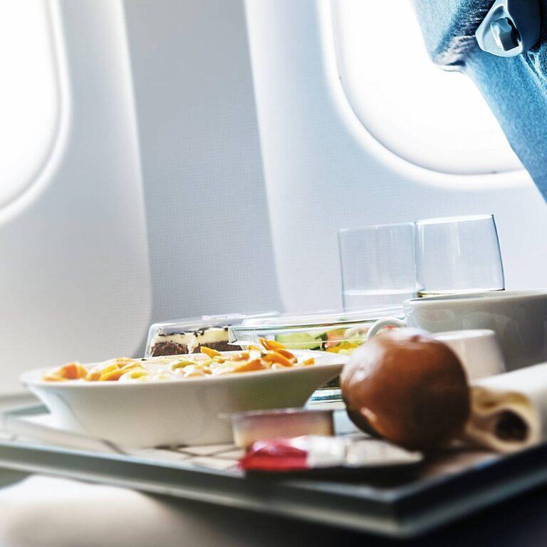 Pouvez-vous demander des secondes de votre repas en vol?