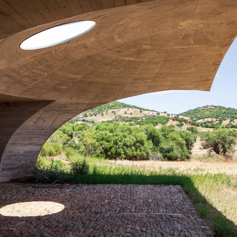 Un repaire souterrain que vous pouvez louer à Alentejo, Portugal