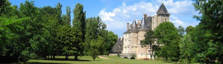 Le Château des Réaux à Chouzé-sur-Loire