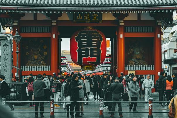 Asakusa a une ambiance traditionnelle de Tokyo
